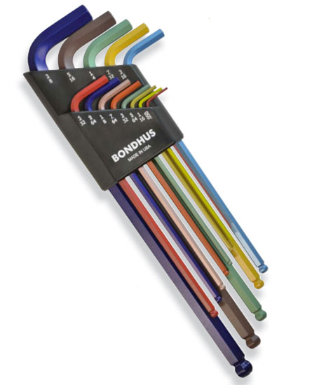 Bondhus ColorGuard Hex Keys