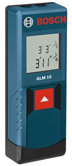 Bosch GLM 15 Laser Distance Measurer