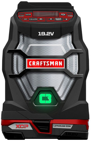 Craftsman C3 Bluetooth Radio