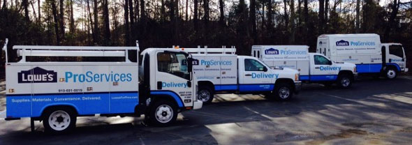 Lowes Proexpress A New Jobsite Delivery Service