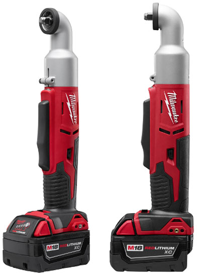 New Milwaukee M18 Right Angle Impact Wrench Amp Impact Driver