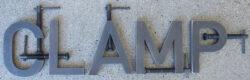 Alphabet C-Clamps