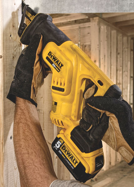 New Dewalt 20v Compact Reciprocating Saw Dcs387