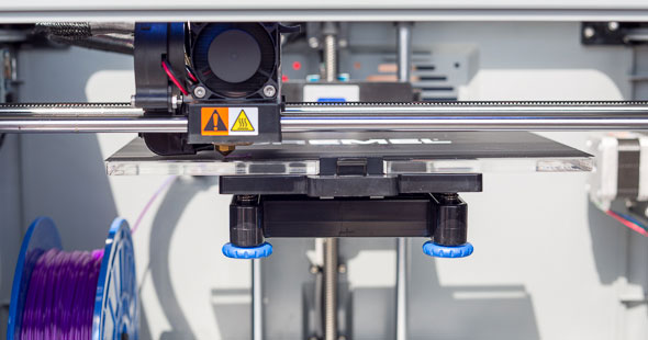 Dremel 3D Printer Build Platform Area
