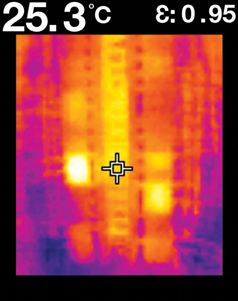Flir TG165 Example Image Active Circuits