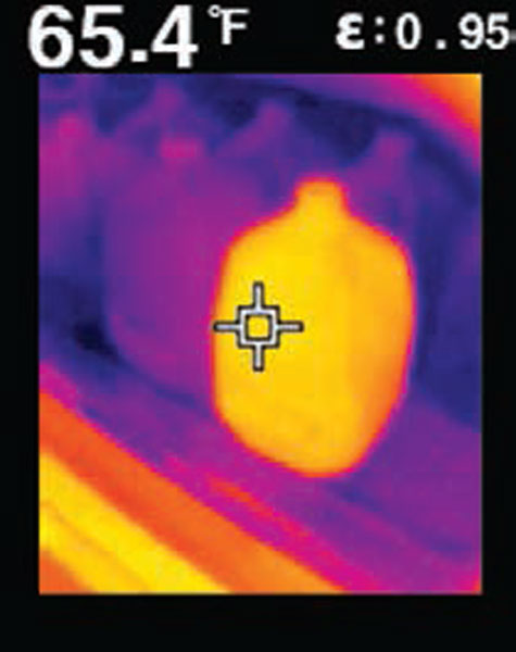 Flir TG165 Warm Milk Refrigeration Issues