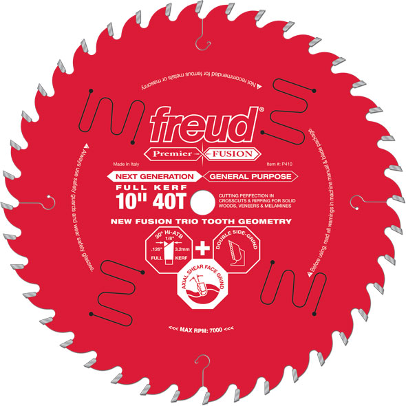 Freud Premier Fusion General Purpose Saw Blade