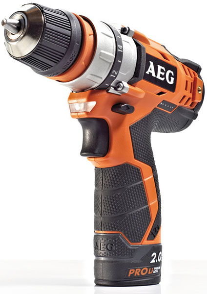 AEG Interchangeable Chuck 12V Drill