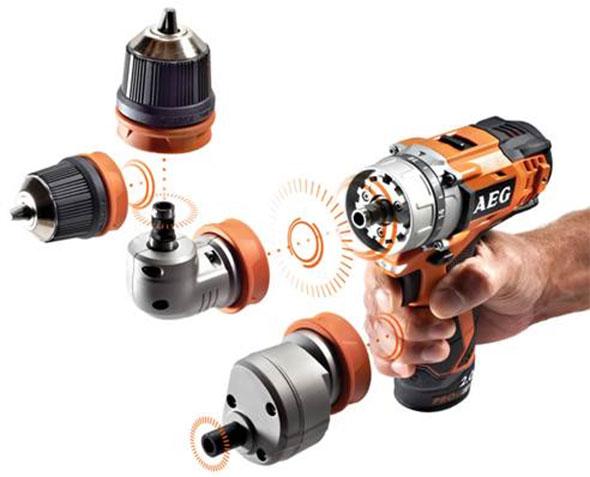 AEG Modular Drill Chucks