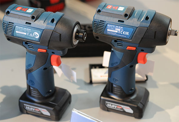 Bosch 12V Brushless Impact Tools Back