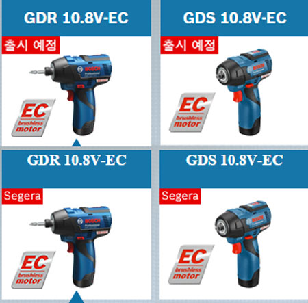 Bosch 12V Brushless Impact Tools Coming Soon Labels
