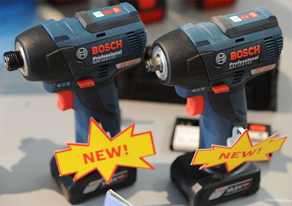 Bosch 12V Brushless Impact Tools Front