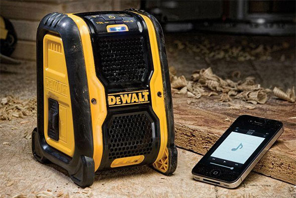 Dewalt Bluetooth Speaker Size Comparison