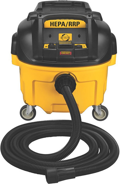 new dewalt mini hepa dust extractor vacuum