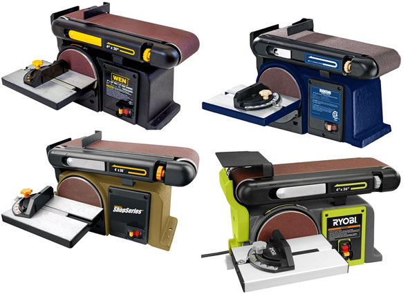 Ryobi belt and disc sander review
