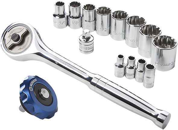 Kobalt Direct Drive Gearless Ratchet Set Free Bonus