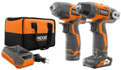 New and Low-Priced Ridgid 12V Drill and Impact Driver Kit