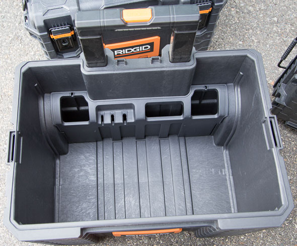 Ridgid Pro Organizer Tool Box And Gear Cart Review