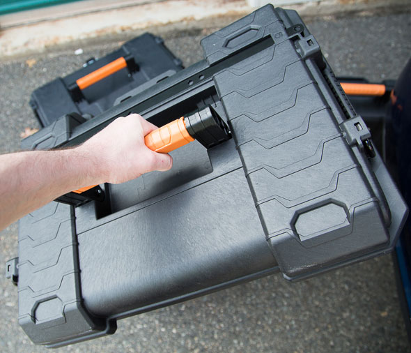 Ridgid Pro Tool Box Cart Removable Lid