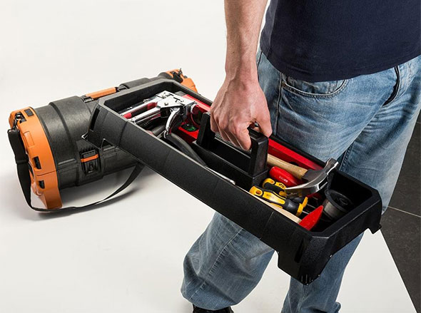 Ridgid Pro Tube Tool Box Removable Tray