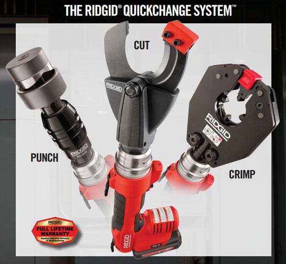 Ridgid RE 6 QuickChange System
