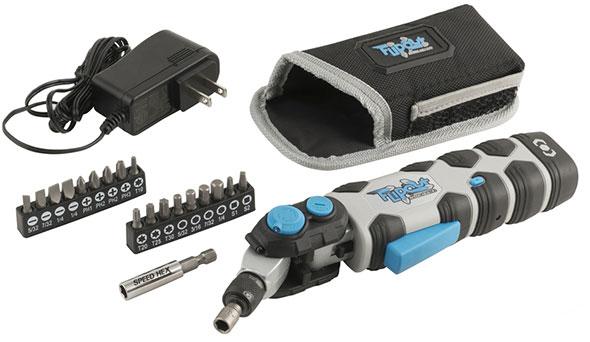 SpeedHex FlipOut Cordless Screwdriver Kit