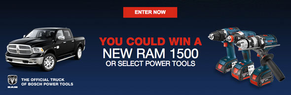 Bosch Lead the Charge Sweepstakes H2014