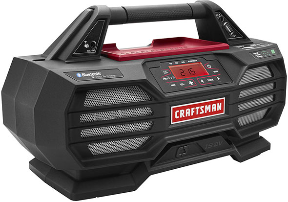 Craftsman C3 Bluetooth Radio with Charger