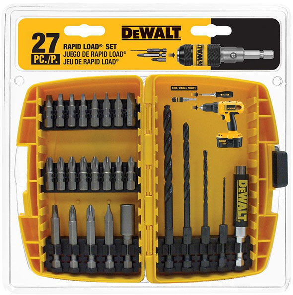 Dewalt 27pc Drilling and Driving Bit Set