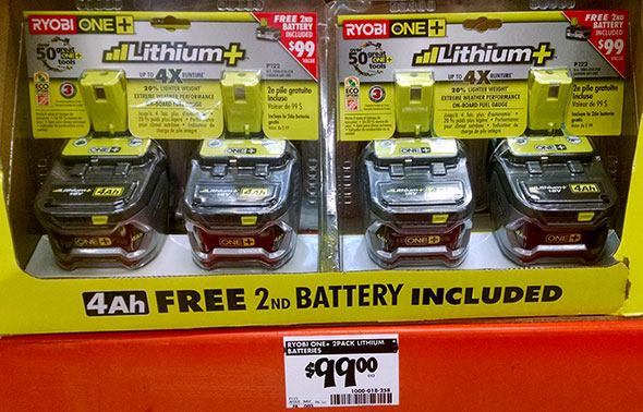 New Cordless Tool Battery Deals At Home Depot