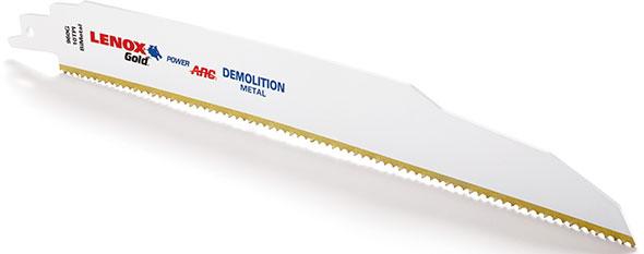 Lenox Gold Power Arc Demolition Blade
