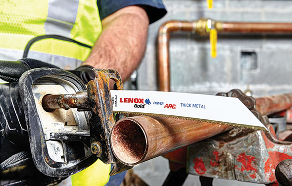 New Lenox Power Arc Reciprocating Saw Blades Have Curved