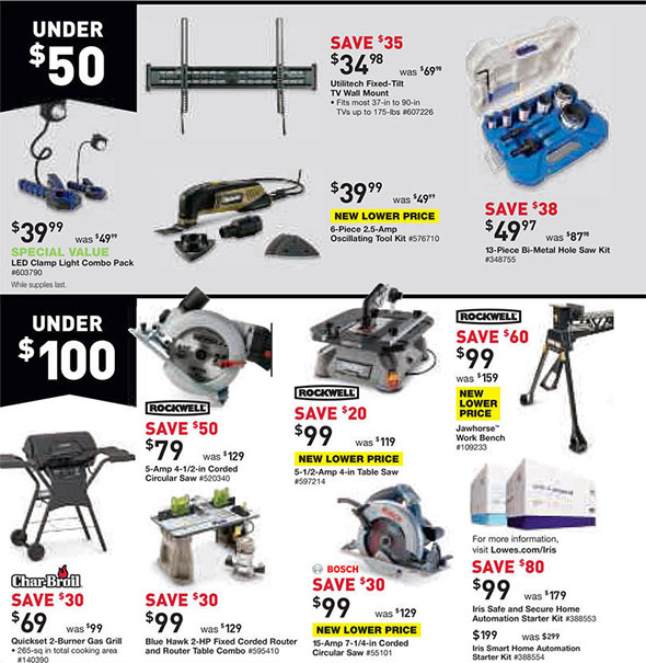 Lowes Black Friday 2014 Tool Deals
