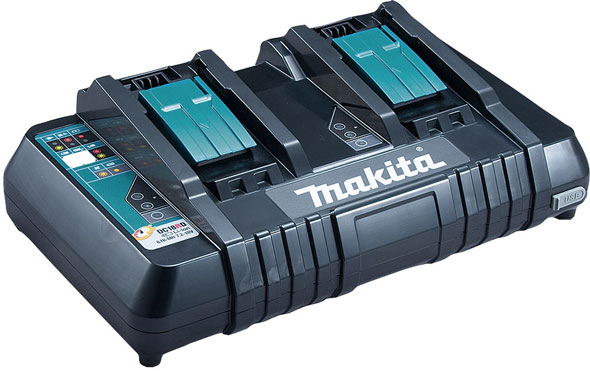 Makita 18v Dual Port Charger With Usb