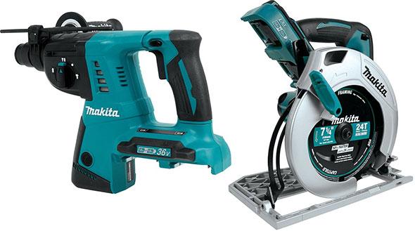 Makita 18V X2 Bonus Free Tools Holiday 2014