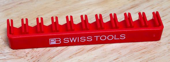 Pb Swiss Tools Bitblock A Fantastic Screwdriver Bit Holder