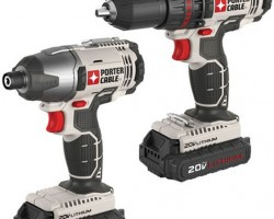 New Porter Cable 20V Cost-Cutting Drill and Impact Driver Combo Kit
