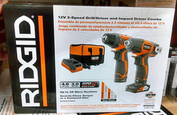New porter cable 20v cost-cutting drill and impact driver combo kit.