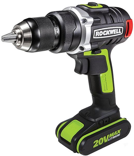 Rockwell 20V Brushless Drill RK2852K2