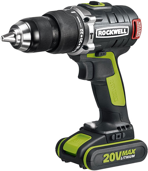 Rockwell 20V Brushless Hammer Drill RK2853K2