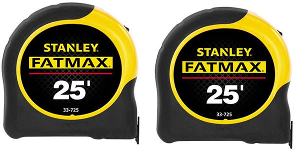 Stanley Fatmax Double Tape Measure Pack