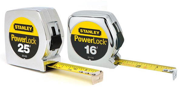 Stanley PowerLock Tape Measures Bonus Pack