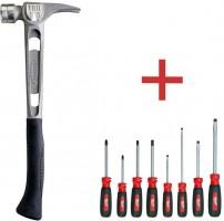 Deal: Buy a Stiletto Titanium Hammer, Get a Free Milwaukee Screwdriver Set