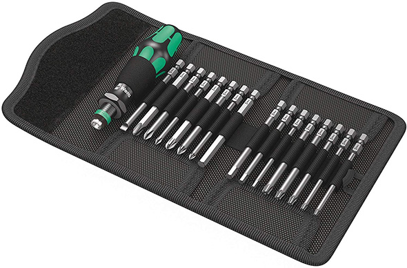 Wera Long Screwdriver Bit Set