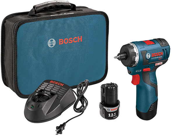 Bosch PS22 12V Brushless Screwdriver Kit