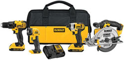 Amazon Deal of the Day: Dewalt 20V Max 4-Tool Combo for <del>$249</del> $229 (12/1/2016)