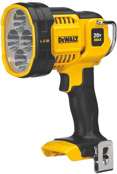 New High Powered Dewalt Dcl043 20v Max Led Spotlight