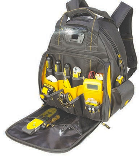 Dewalt DGL523 Lighted Backpack