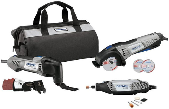 Dremel 3-Tool Holiday 2014 Bundle