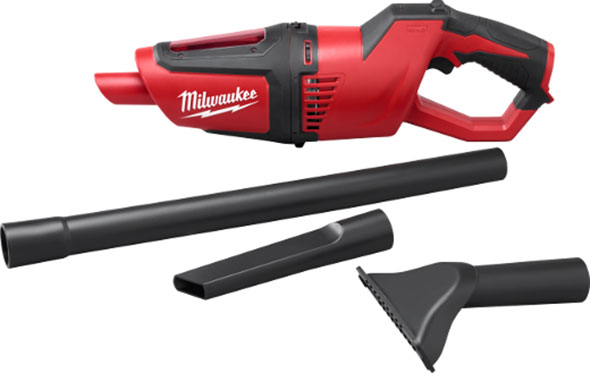 Milwaukee M12 0850-20 Hand Vac with Attachments